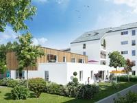 Rêveries du Parc : Vue sur les jardins arborés et balcons du programme