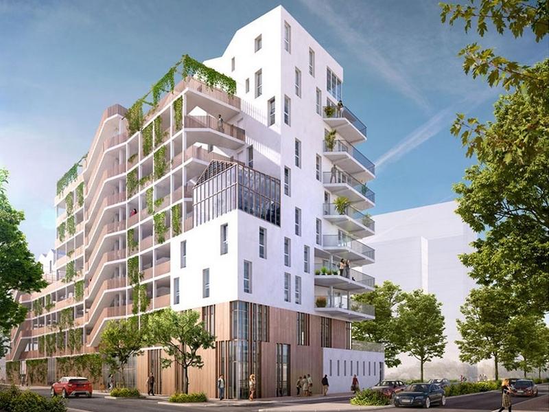 Neo verde : Vue extérieure de la résidence
