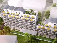 Neo verde : Vue aérienne sur la résidence