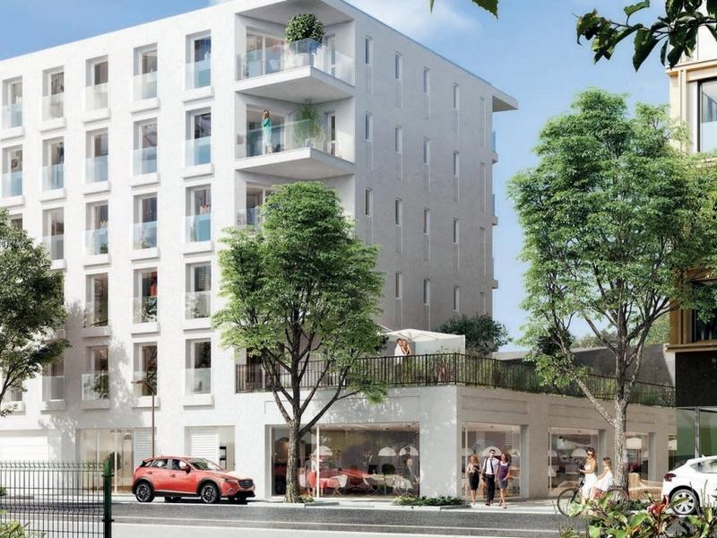 Ivoire les nouveaux Mondes : Résidence moderne aux façades blanches