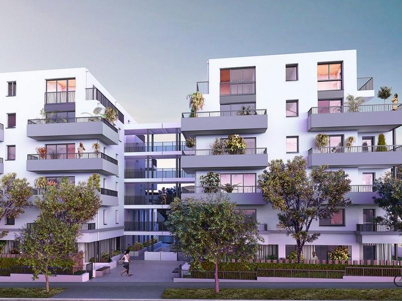 L'avenue : Résidence à l'architecture moderne