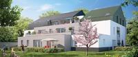 Villa Barbara : Bâtiment de deux étages mêlant des teintes claires et frises