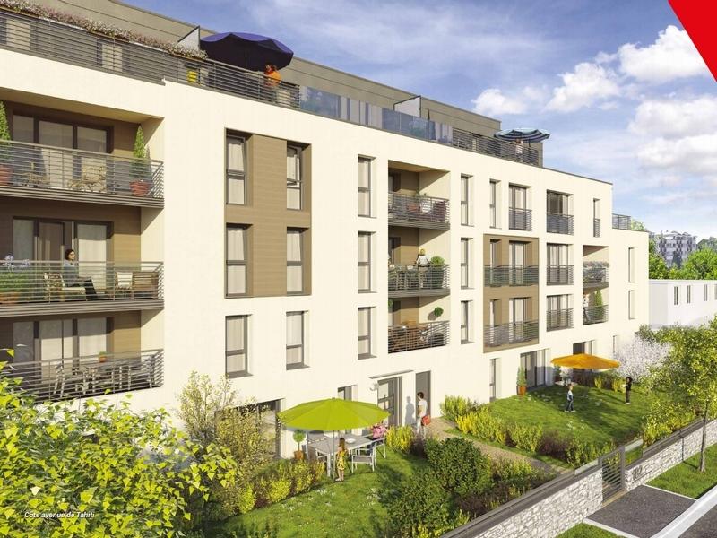 Les terrasses Schuman : Vue extérieure d'un bâtiment aux codes architecturaux traditionnels