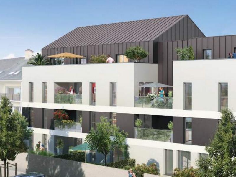 Villa Veluma : Immeuble aux codes architecturaux contemporains