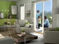 Hemisphere : Séjour moderne avec ouverture sur une terrasse