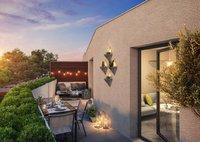 Angelica : Terrasse donnant sur un paysage verdoyant