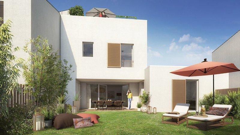 Urban Lodge : Villa contemporaine donnant sur un agréable jardin