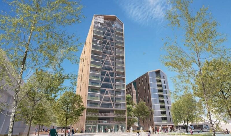 Tour Silva : Tour faite en bois et construit sur plus de 15 étages