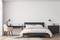 Tour Silva : Chambre avec parquet stratifié