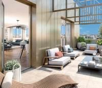 Lao : Terrasse avec dalle sur plot