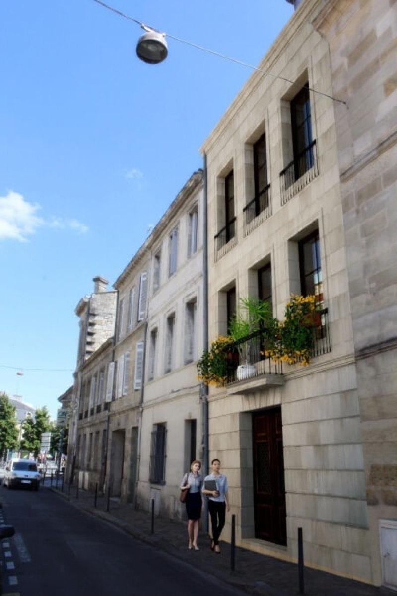 89 rue Henri IV : Immeuble typique de Bordeaux