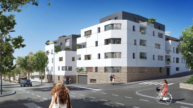 Bellerive : Immeuble moderne donnant sur rue