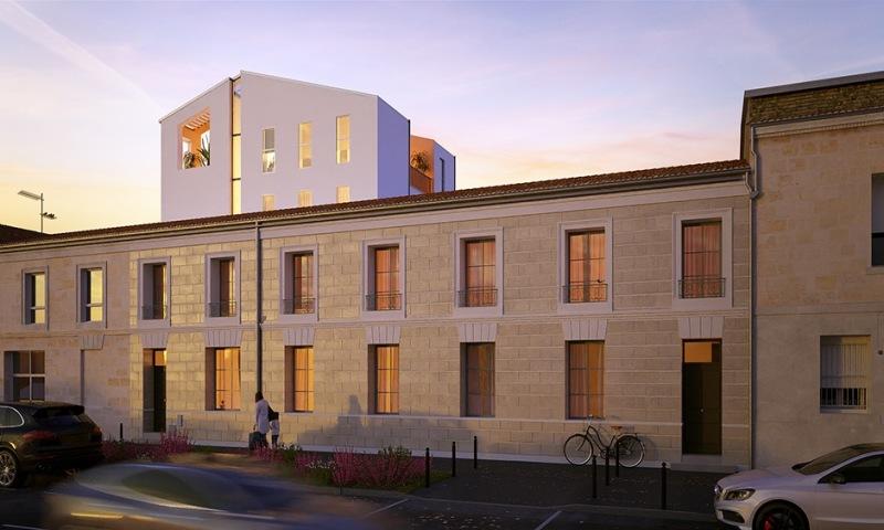Edouard VII : Appartement situé en arrière-plan d'un immeuble contemporain