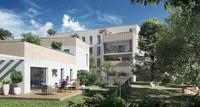 Carré Capucins : Immeuble donnant sur des espaces de verdure