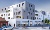 Connexion : Immeuble contemporain donnant sur rue