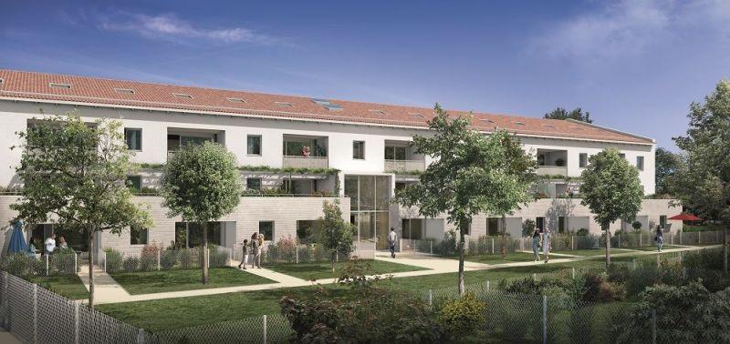 Domaine d'Ophélia : Immeuble aux codes architecturaux toulousains