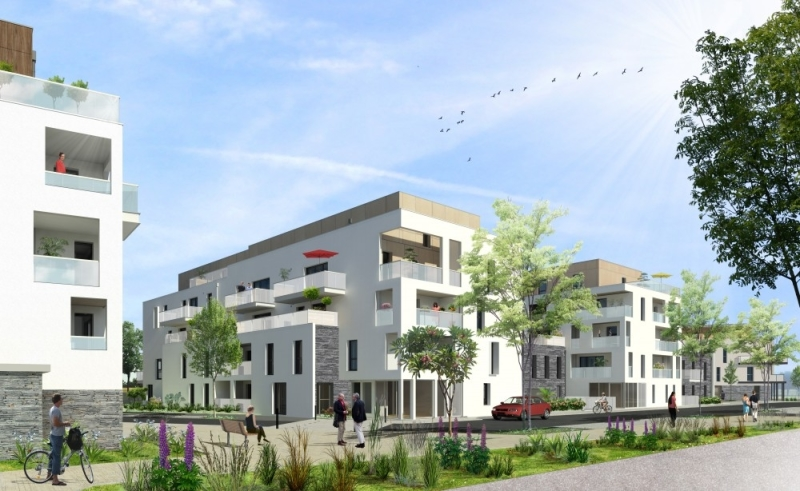 Pléiades : Immeuble contemporain
