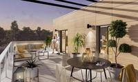 Pléiades : Terrasse avec dalles sur plots