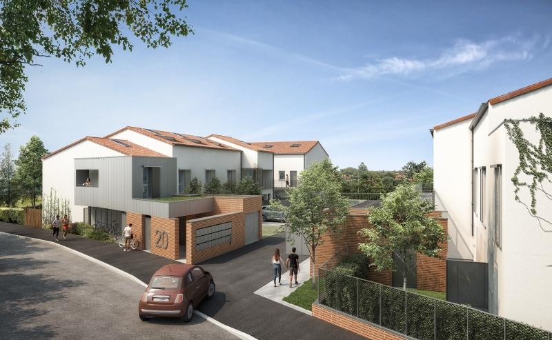 Nova : L'entrée du programme immobilier