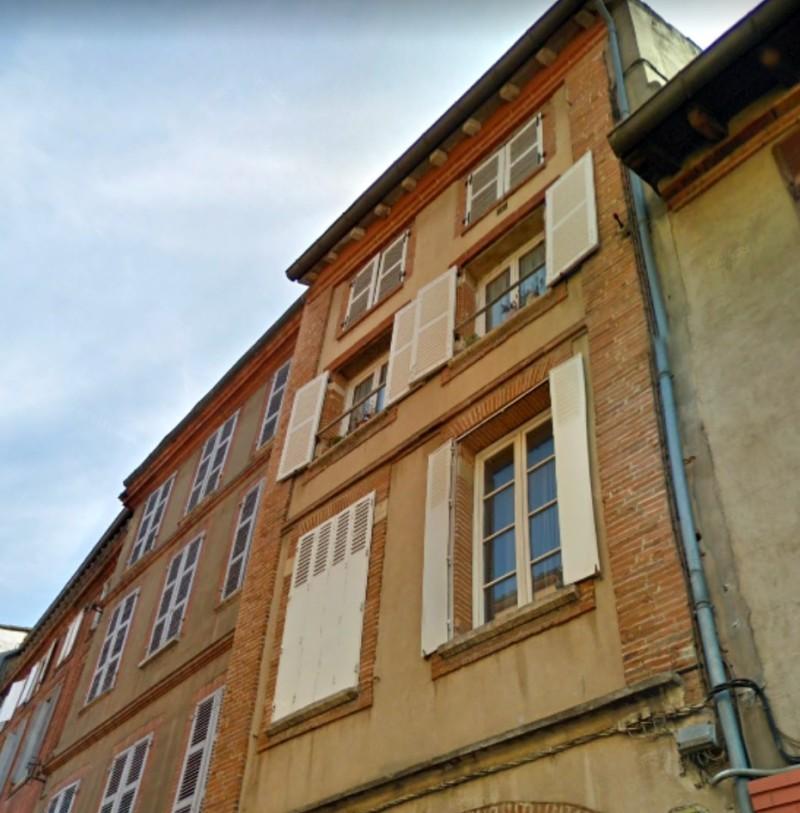 Blanchers : Immeuble typique de la ville de Toulouse