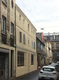 Rue Contrescarpe : Immeubles authentiques de Bordeaux