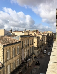 Rue Contrescarpe : Vue aérienne sur la rue où se construit ce programme immobilier