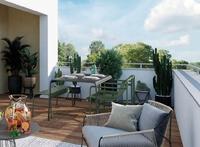 Esprit Gakoa : Terrasse à ciel ouverte avec lames de bois
