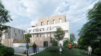 Vogue : Immeuble contemporain construit sur 3 étages