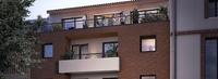 Villa Caffarelli : Terrasse au 5è étage d'un immeuble couvert de briques rouges
