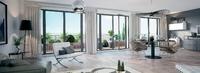 Villa Caffarelli : Séjour lumineux ouvert sur une terrasse en lames de bois
