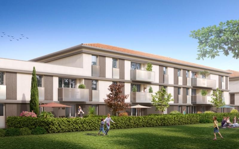 Caudalie : Immeuble donnant sur un espace vert