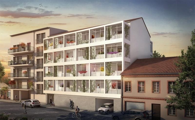 Iloa : Immeuble blanc construit sur 4 étages