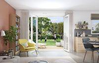 Villas Umbrella : Séjour ouvert sur un jardin