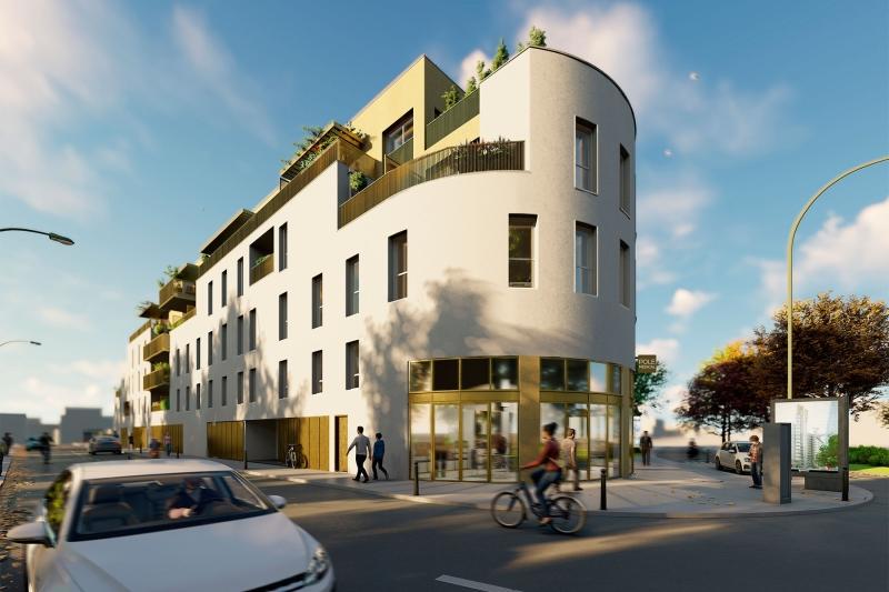 Gavarnie : Immeuble contemporain construit sur 3 étages