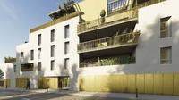 Gavarnie : Façade d'un immeuble moderne