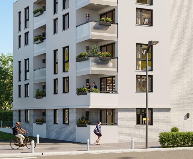 Ô Georgia : Immeuble contemporain construit sur 4 étages