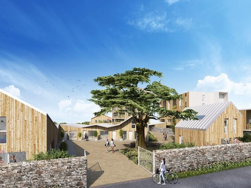 So Link : Immeuble moderne construit en bois