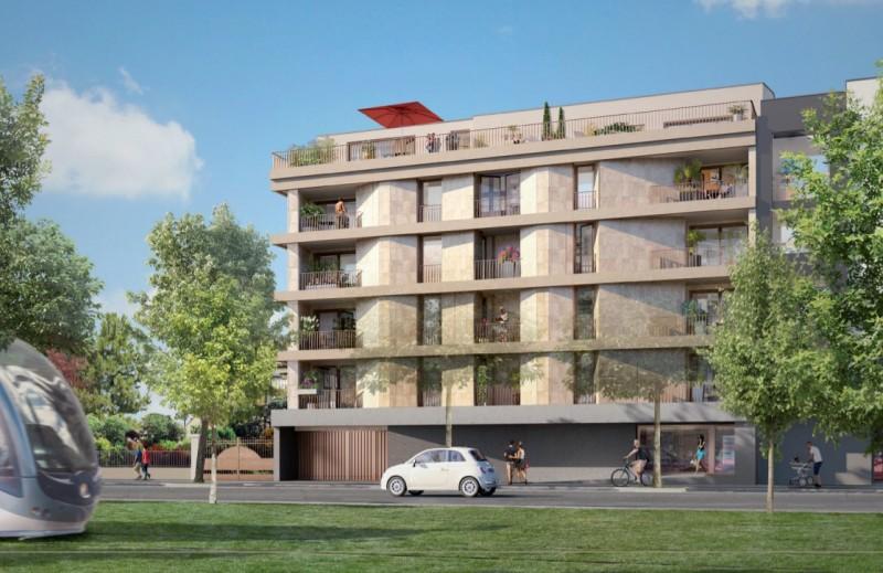 Allure : Immeuble contemporain construit sur 5 étages