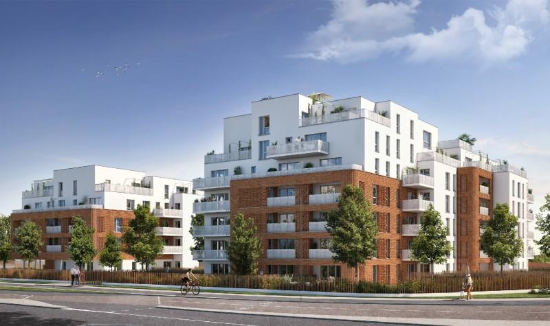 Respiration : Immeuble contemporain bâti sur 6 étages