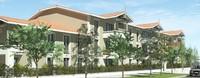 Immeuble construit sur 2 étages et ressemblant aux bâtiments du bassin d'Arcachon