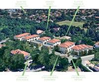 Villas des Carmes : Visuel aérienne