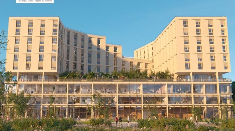 Campus Créatif 2 : Visuel résidence