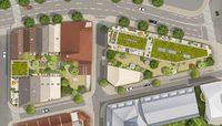 Escale sur Jardins : Vue aérienne 3D