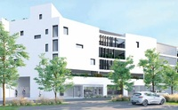 Cote Garonne - Academiales : Autre façade résidence