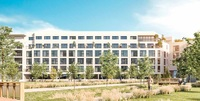 Cote Garonne - Academiales : Façade vitrée