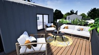 Carre De Sinople : Terrasse