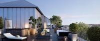Pavillon Saint-Louis : Vue depuis une terrasse