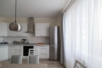 Villa 56 : Une grande cuisine contemporaine