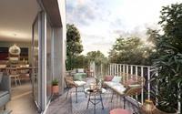 Léona : Pièce à vivre donnant sur une belle terrasse