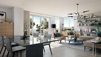 BordoCima : Séjour moderne en appartement neuf